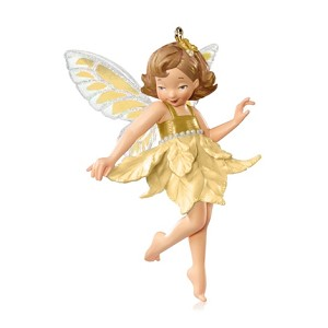 2015 Fairy SURPRISE - GOLD Wings & Skirt - Rare