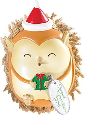 2015 Grandson - Am Greeting ornament