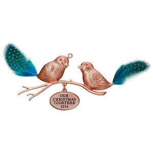 Hallmark Our First Christmas Ornament.2016 Our Christmas Together Birds