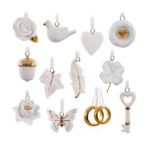 2016 wedding wishes ornament set hallmark keepsake ornament hooked