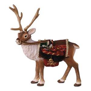 2017 Father Christmas Reindeer Hallmark Ornament - Hooked on ...