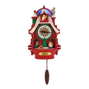 2017 Santa S Magic Cuckoo Clock Ornament Repaint Limited Ed Of 5000