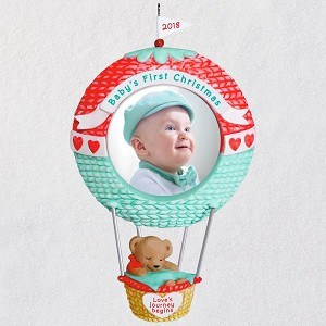 2018 Baby's First Christmas Photo Holder