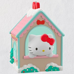 2018 Hello Kitty Gingerbread House