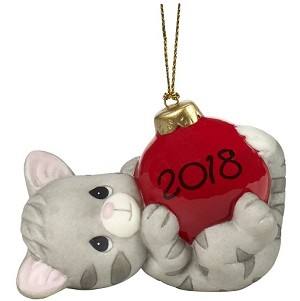2018 May Your Holidays Be Purr-fect - Dated Precious Moments