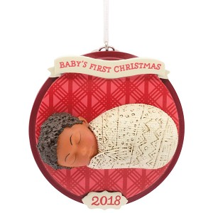 2018 Baby's First Christmas, Mahogany
