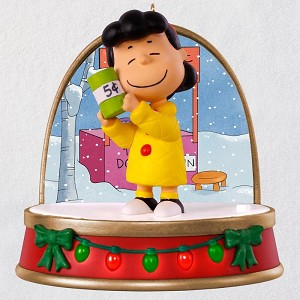 2018 charlie brown christmas lucy avail nov - Charlie Brown And Snoopy Christmas Decorations