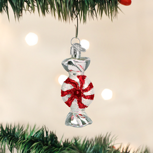 Peppermint Candy - Old World Christmas Blown Glass