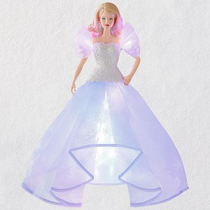 2018 Angel Lights! Barbie  MAGIC Tree Topper