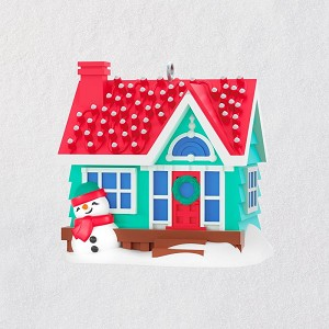 2018 Holiday House, MINIATURE - Lighted