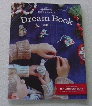 2018 Hallmark Dreambook  - large 8x10 with 93 pages