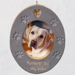 2019 Forever By My Side Photo Holder Ornament