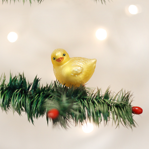 Baby Chick - Old World Christmas Blown Glass