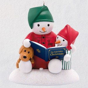 2019 Story Time Snowman - MAGIC ORNAMENT
