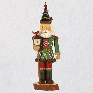 Hallmark Christmas Ornaments 2019.2019 Noble Nutcracker 1 Prince Of The Forest New Series