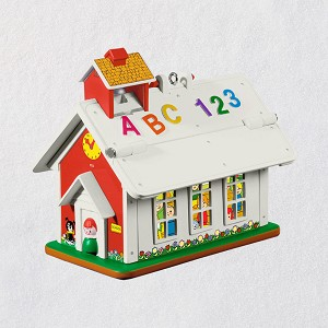 2019 Fisher-Price Lil School House MINIATURE