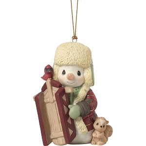 2019 May Your Holidays Be Filled With Winter Thrills - Annual Snowman - Dated Precious Moments