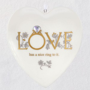 2020 First Comes Love Ornament