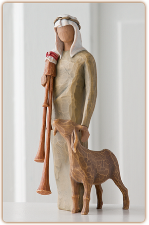 Willow Tree ZAMPOGNARO - Nativity Figurine