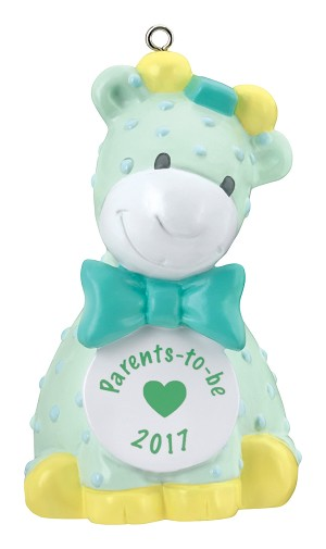 2017 Parents To Be - Am Greetings Ornament