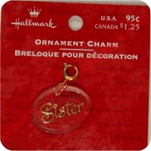 Sister - Clip on Ornament Charm