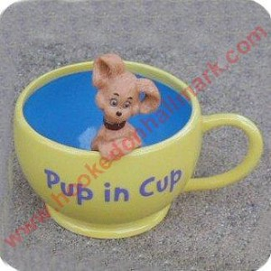 Pup in a Cup - Dr Seuss Figurine