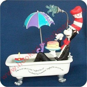 Cat in the Tub - Dr Seuss FIGURINE Collection -  DB