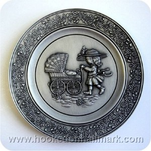 1980 Special Day Pewter Plate - We Learn of Love #2 - NB