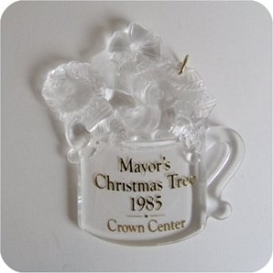 1985 Mayors Tree - from Claras collection - DB
