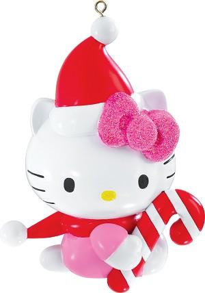 2015 Hello Kitty Christmas Ornament   Carlton Heirloom Ornaments at ...