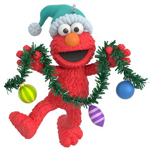 2020 Deck the Halls With Elmo Sesame Street - Ships July 13
