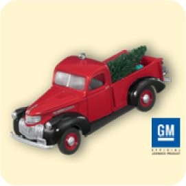 "<font face=""arial"" size=""2""><b>2007 All American Truck Colorway</b><br>2007 Hallmark Keepsake Colorway Ornament <br><i> (Scroll down for additional details) </i> </font>"