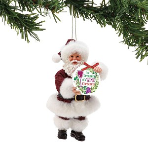 2018 im dreaming of a wine christmas possible dreams ornament