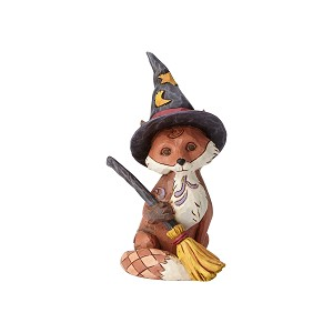 2019 Fox in Witch's Hat Figurine - Jim Shore Heartwood Creek