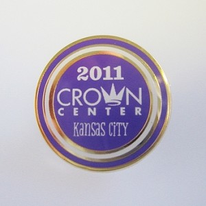 2011 Crown Center Kansas City Event Lapel Pin