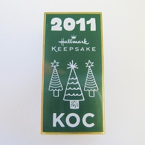 2011 KOC Kansas City Event Lapel Pin