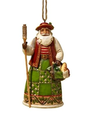 2019 Santas Around the World - ITALIAN - Jim Shore Heartwood Creek