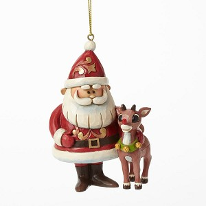 2018 Santa and Rudolph 50th Anniversary - Jim Shore Heartwood Creek