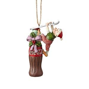 2019 Coca Cola Elf - Jim Shore Heartwood Creek Christmas Ornament - Hooked on Ornaments