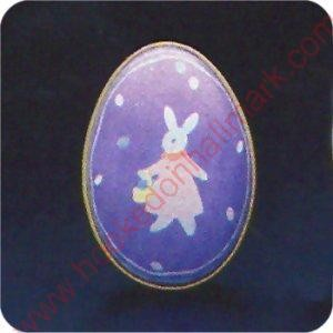 1988  Egg Girl Bunny - Merry Miniature