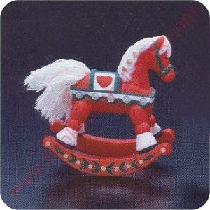 1982 Rocking Horse - Merry Miniature
