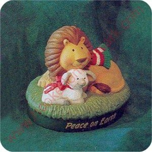 1995 Lion and Lamb - Merry Miniature