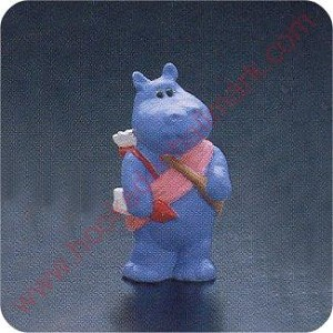 1990 Hippo Cupid - Merry Miniature