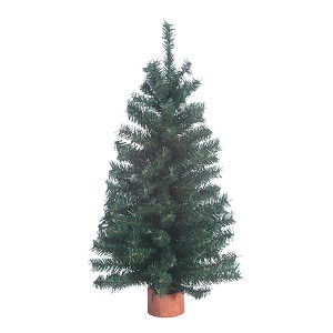 "Miniature Canadian Pine Tree, 18"" - 149 tips"