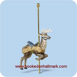 2006 Carousel Ride #3 - Prancing Reindeer 2006 Hallmark Keepsake Series Ornament   (Scroll down for additional details)