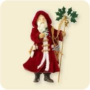 "<font face=""arial"" size=""2""><b>2007 Father Christmas Colorway</b><br>2007 Hallmark Colorway / Repaint Ornament <br><i> (Scroll down for additional details) </i> </font>"