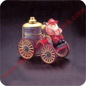 1985 Here Comes Santa #7 - Santa's Fire Engine