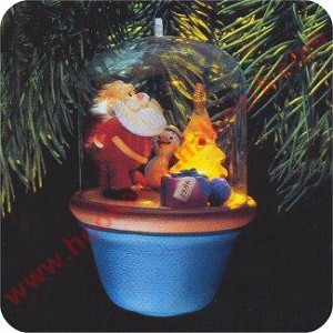 1986 Santa And Sparky #1 - Lighting the Tree