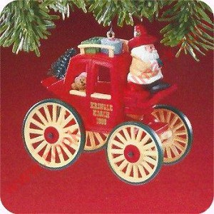 1988 Here Comes Santa #10 - Kringle Coach