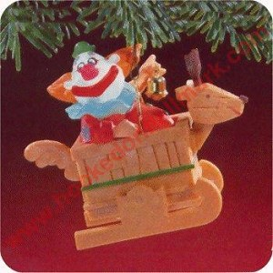 1988 Jingle Bell Clown - Musical